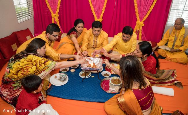 Pre-wedding traditions.