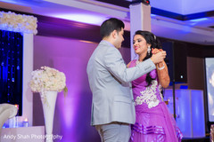 Lovely traditional Indian wedding reception dance.