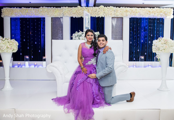 indian wedding reception,indian bride and groom,portrait