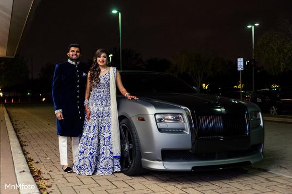 indian wedding reception,indian bride,indian groom,transportation