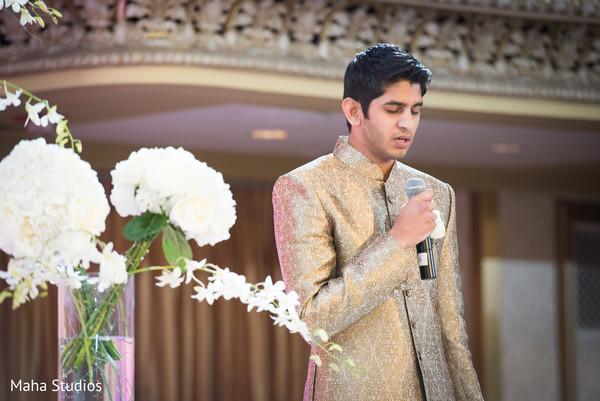 Traditional pakistani wedding speech.