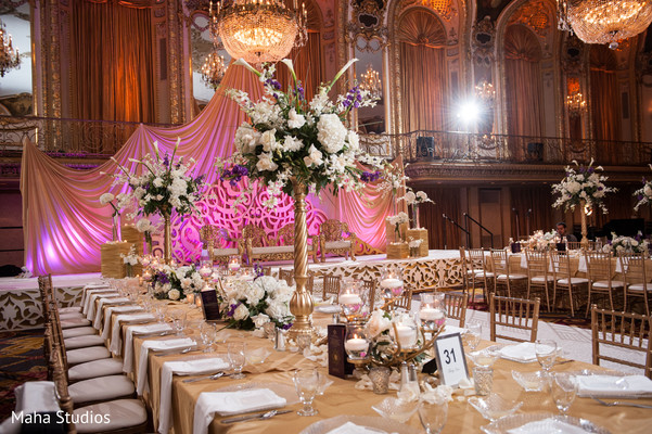 table centerpieces,floral centerpieces,pakistani wedding reception
