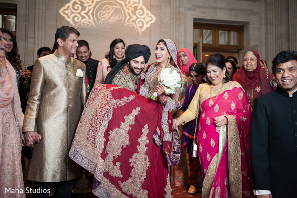 pakistani wedding reception,pakistani bride,pakistani groom,post ceremony traditions
