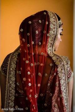 indian bride,indian bridal fashion,dupatta