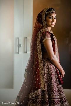 indian bride,indian bridal fashion,getting ready,lengha