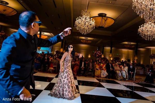 indian wedding reception,reception fashion,dj