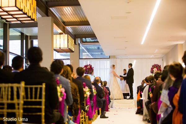 Christian wedding ceremony.