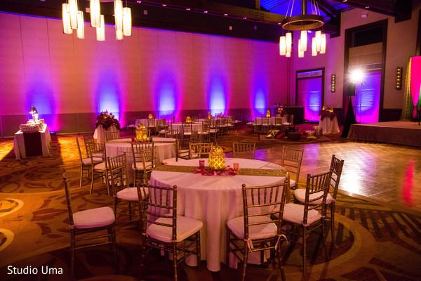 Sangeet night table night set up.