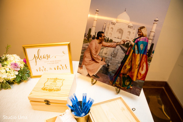 guest book,indian wedding reception,planning and design