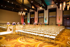 indian wedding ceremony,floral and decor,venue