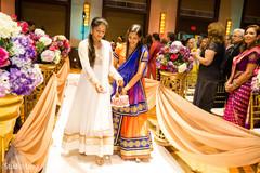 indian wedding ceremony,flower girls