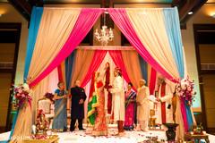 indian wedding ceremony,indian groom,indian bride,mandap