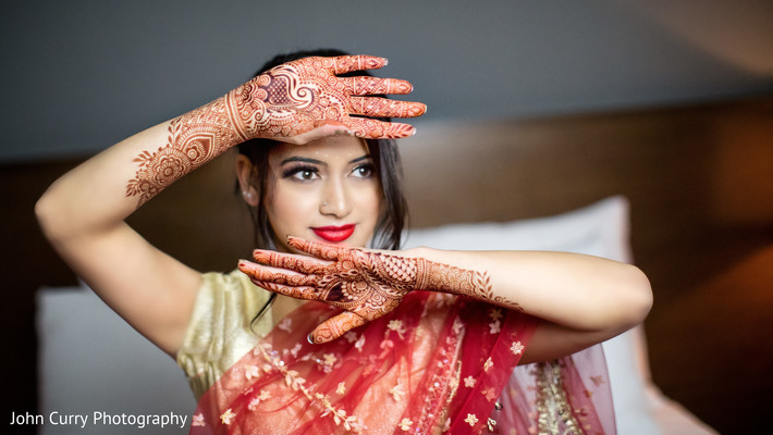 Mehndi Makeup Bridal : Indian bridal mehndi art and makeup in tacoma wa styled