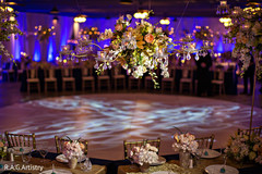 indian wedding reception,indian wedding reception floral and decor,monogramed dance floor.