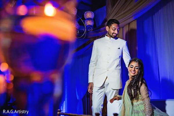Beautiful indian couple in Lake Lanier, Georgia Indian Wedding by RAG Artistry