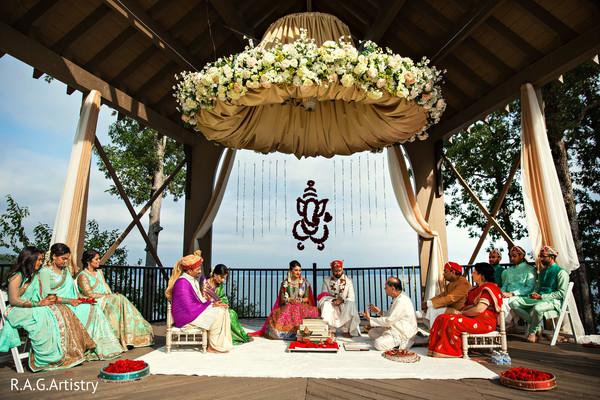 Indian wedding ceremony photography