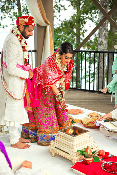 indian wedding ceremony,indian bride fashion,indian groom outfit