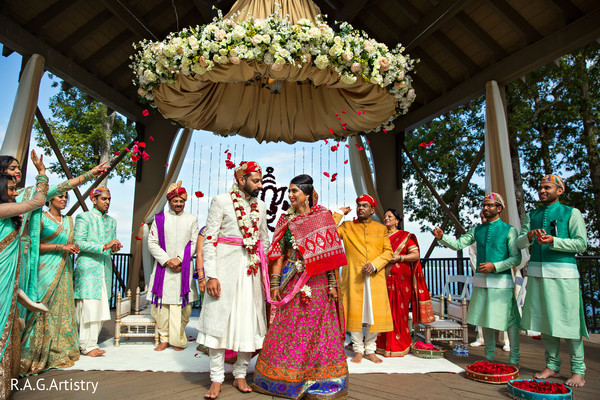 indian wedding ceremony,flower mandap,indian wedding decor