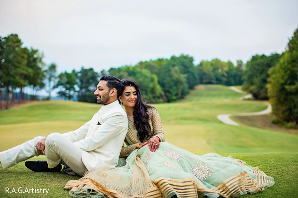 Amazing indian bride and groom photography in Lake Lanier, Georgia Indian Wedding by RAG Artistry