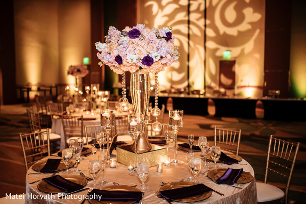 indian wedding reception photography,floral and decor,floral centerpieces
