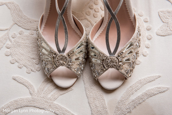bridal shoes,indian bride fashion,indian bride getting ready