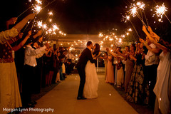 Incredible indian bride and groom's shoot with fireworks