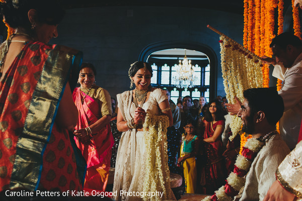 indian wedding ceremony,first look photography,indian bride lengha