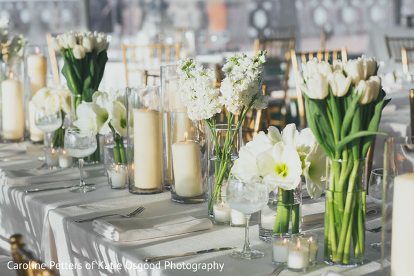 indian wedding reception floral and decor,indian wedding reception,floral centerpieces