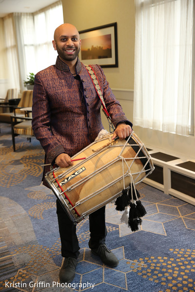 dhol player,pre- wedding celebrations