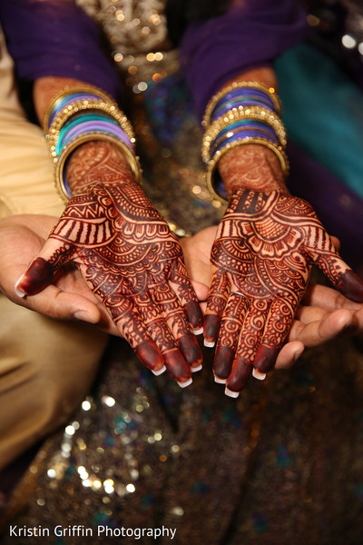 Enchanting indian bridal mehndi design. in Hartford, CT South Asian Wedding by Kristin Griffin Photography