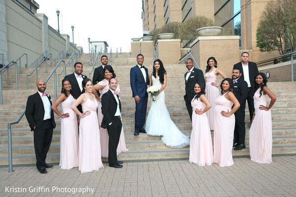 Inspiring Indian bridal party. in Hartford, CT South Asian Wedding by Kristin Griffin Photography