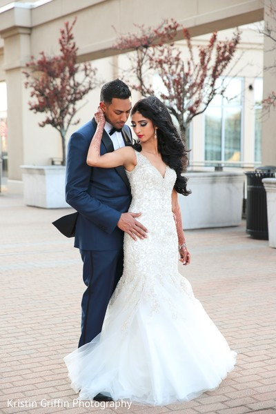 Romantic Indian wedding photography. in Hartford, CT South Asian Wedding by Kristin Griffin Photography