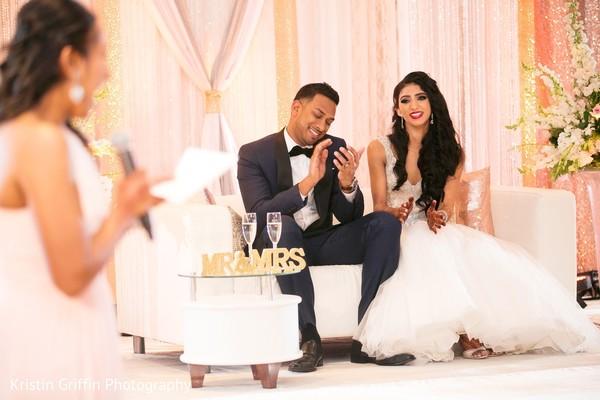 indian wedding reception,indian bride,indian groom
