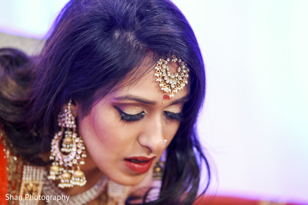 Indian bridal jewelry in Dayton, OH Indian Wedding by Shan Photography