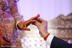 bridal jewelry,wedding rings,indian wedding reception photography