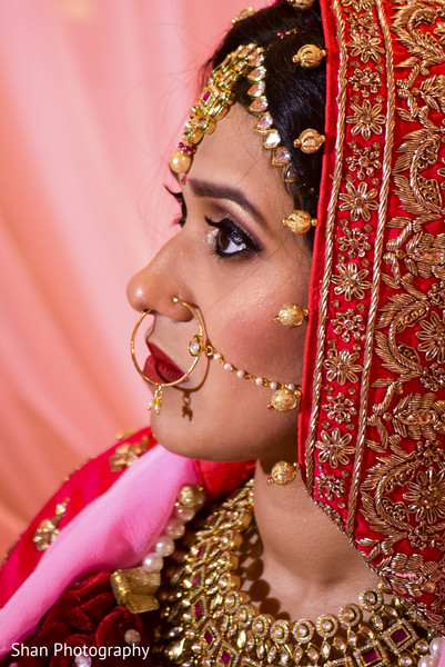 indian wedding ceremony,indian bride hair and makeup,bridal jewelry