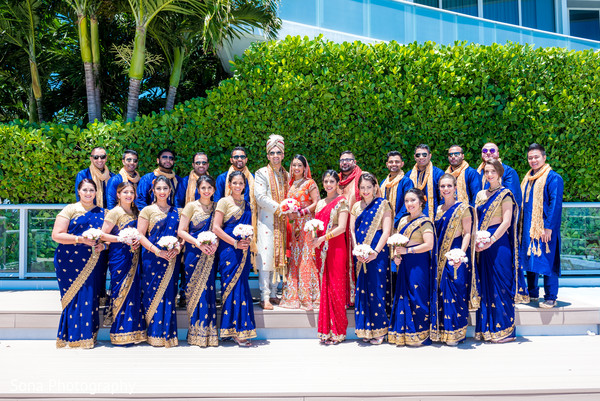 indian wedding photography,indian bridesmaids,indian groomsmen