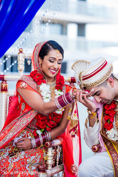 W hotel ft lauderdale indian wedding ancy ravi maharani there were so many sweet moments during their ceremony so make sure you click on the link above to see more from their wedding junglespirit Images