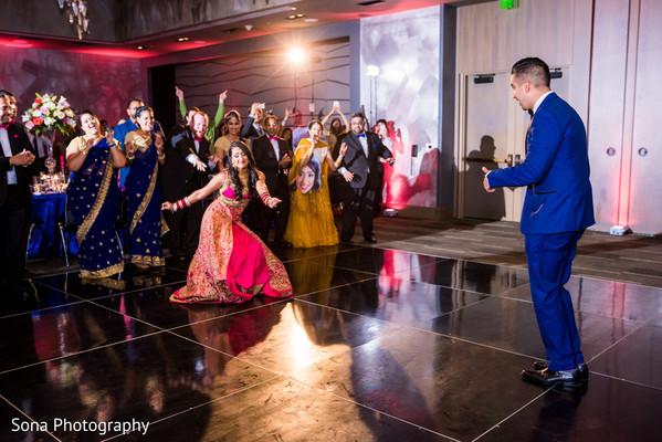 indian wedding reception,indian bride,indian groom,dj