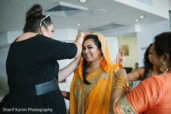 pre- wedding celebrations,haldi ceremony,indian bride getting ready