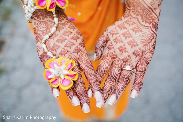 Amazing indian bridal mehndi in Long Island, NY South Asian Wedding by Karim Photo