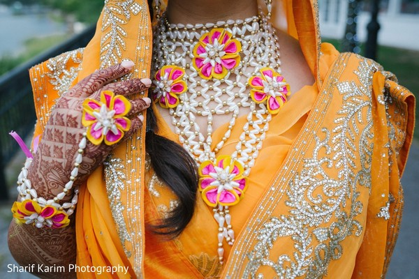 pre- wedding celebrations,haldi ceremony,indian bride accessories