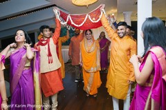 mehndi party,pre- wedding celebrations,indian bride fashion