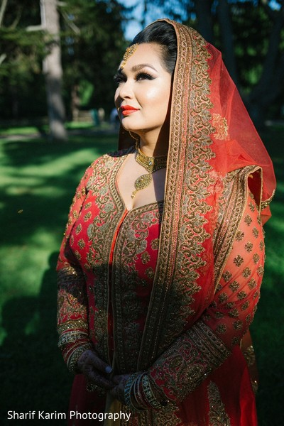 Beautiful indian bride in Long Island, NY South Asian Wedding by Karim Photo