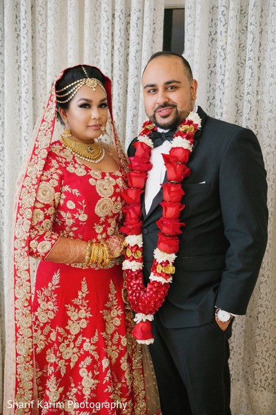 Sweet indian couple in Long Island, NY South Asian Wedding by Karim Photo