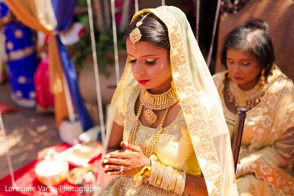 indian bride,pre-wedding ritual,indian bride fashion