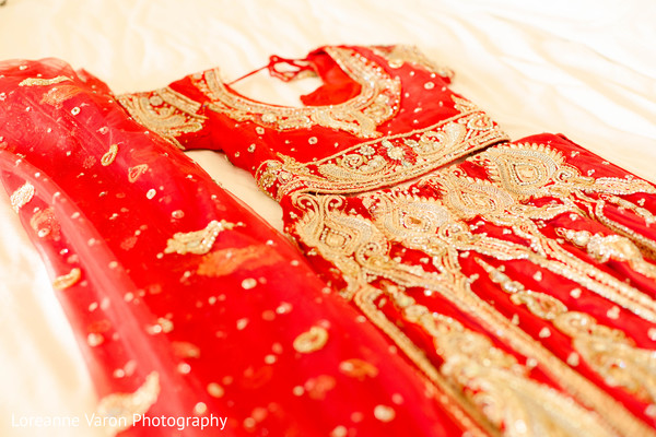 bridal fashion,indian bride fashion,red lengha