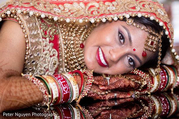 Indian Bridal Makeupindian Bride Fashionbridal Jewelrybridal Tikka