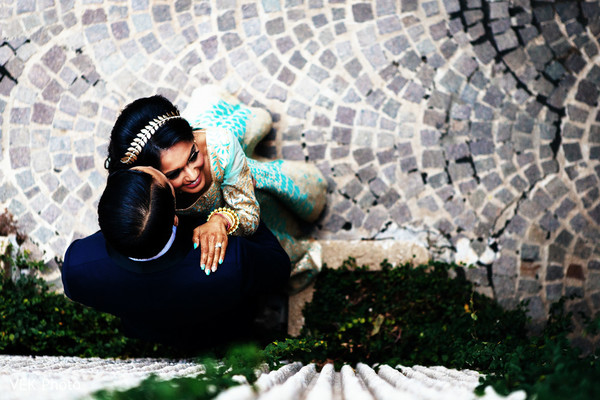 Dreamy indian bride and groom