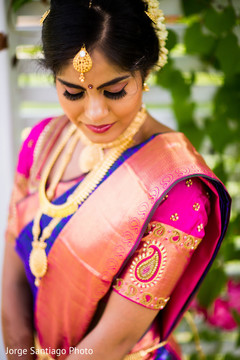 Indian Bride Pre-Wedding Portrait